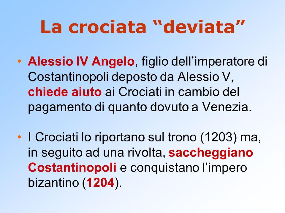 La crociata deviata
