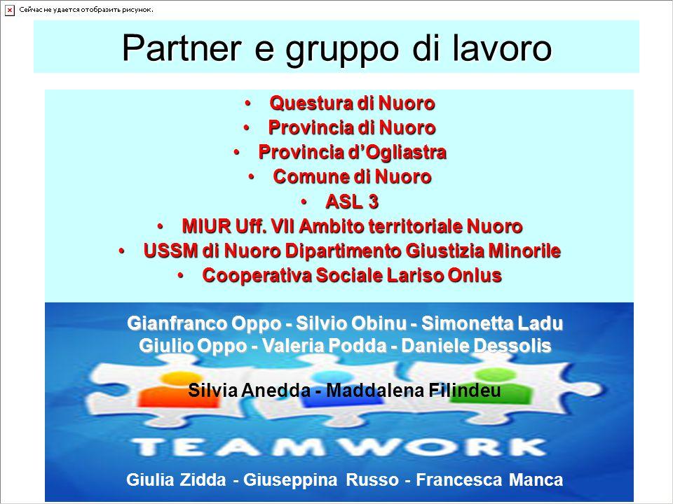 Partner e gruppo di lavoro