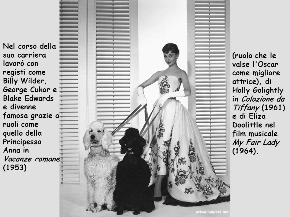 Nel corso della sua carriera lavorò con registi come Billy Wilder, George Cukor e Blake Edwards e divenne famosa grazie a ruoli come quello della Principessa Anna in Vacanze romane (1953)