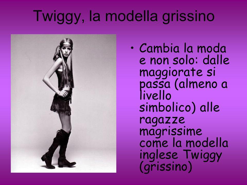 Twiggy, la modella grissino