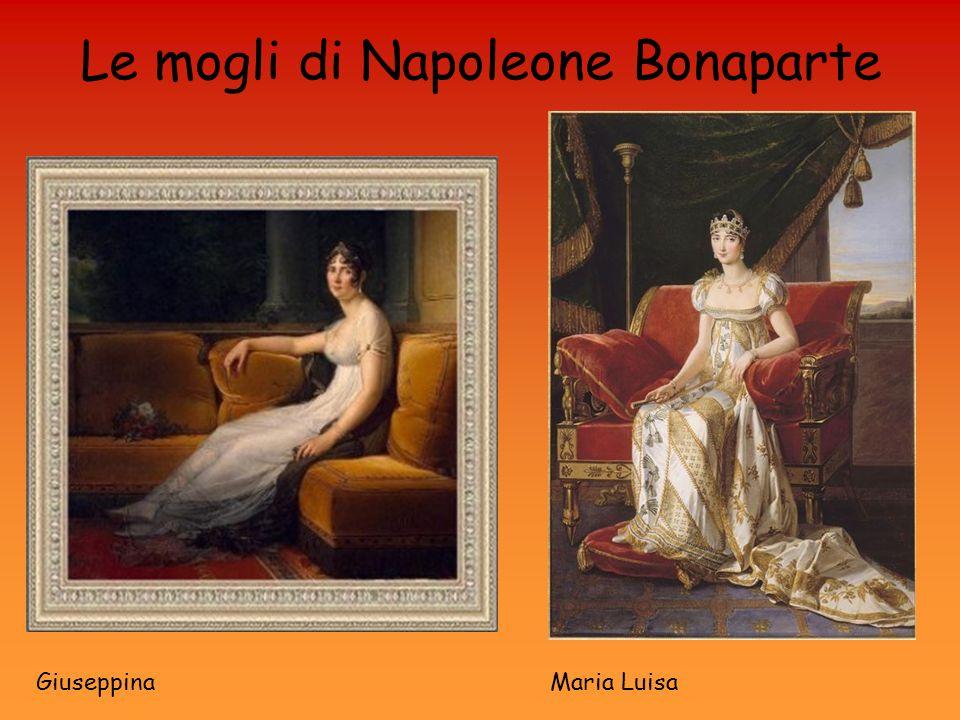 Le mogli di Napoleone Bonaparte