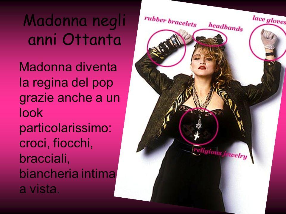 Madonna negli anni Ottanta