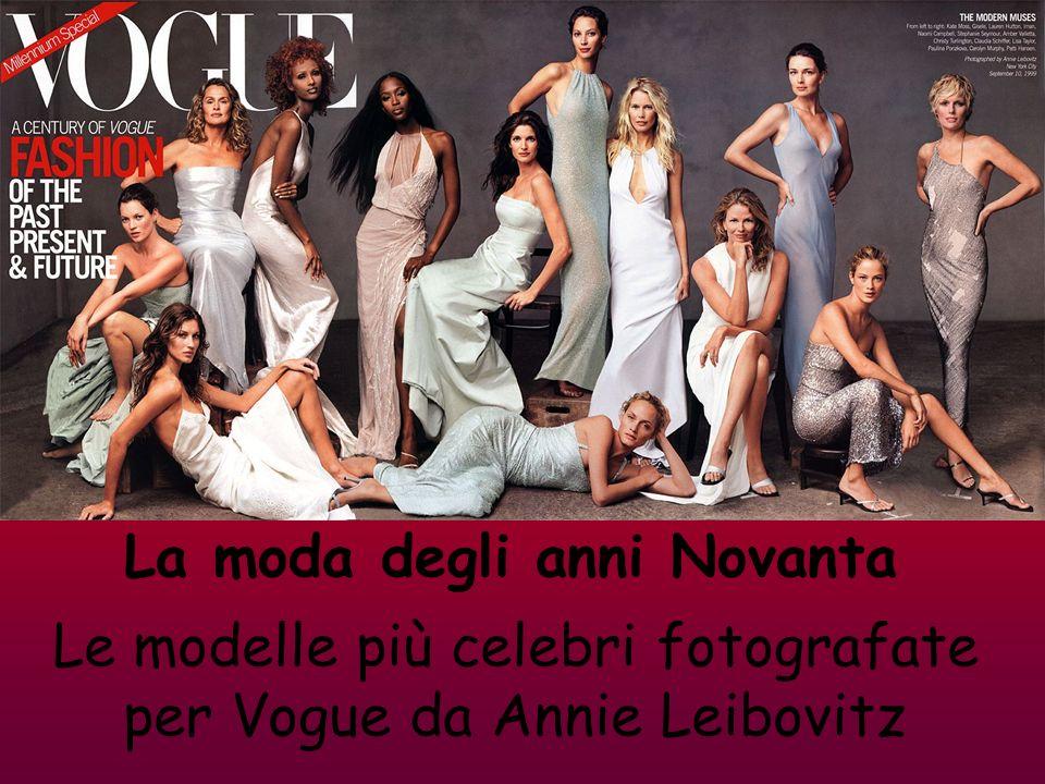 Le modelle più celebri fotografate per Vogue da Annie Leibovitz
