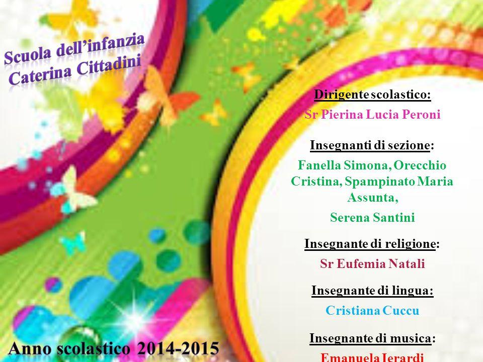 Scuola dell'infanzia Caterina Cittadini Anno scolastico 2014-2015