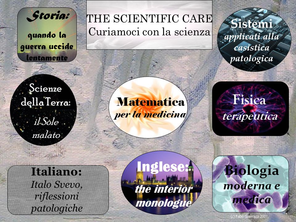 Sistemi applicati alla casistica patologica Biologia moderna e medica
