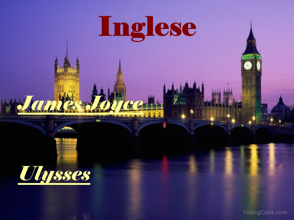 Inglese James Joyce Ulysses