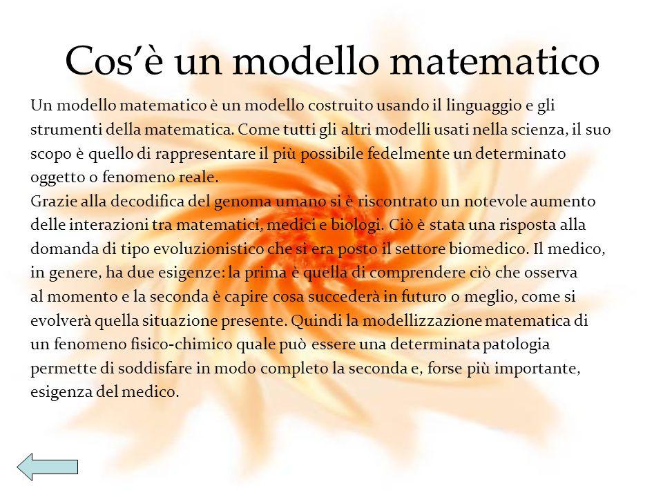 Cos'è un modello matematico
