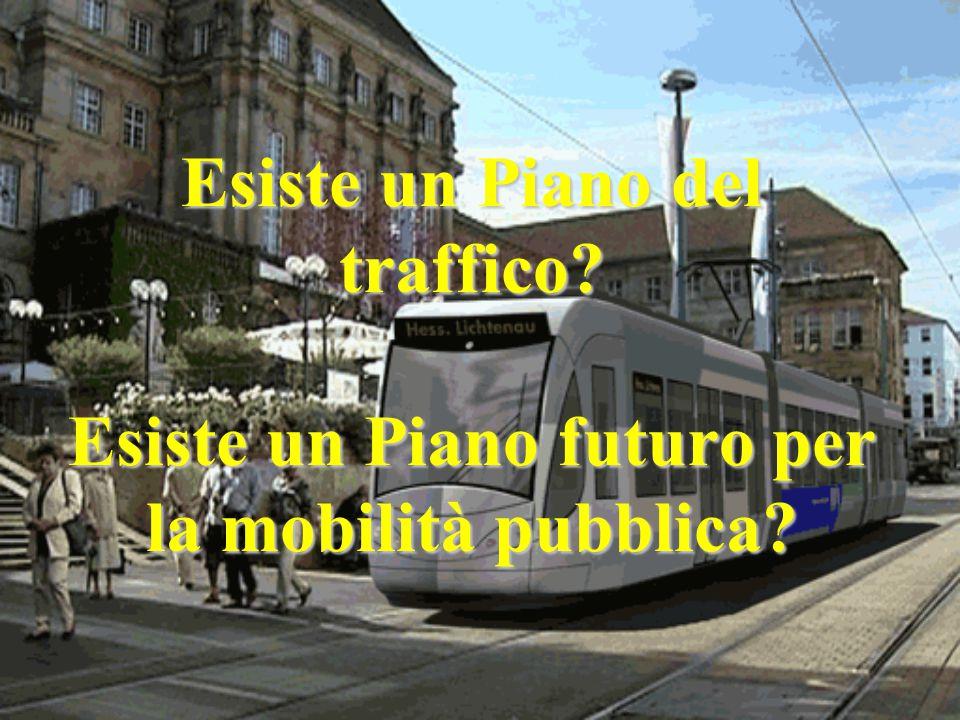 Esiste un Piano del traffico