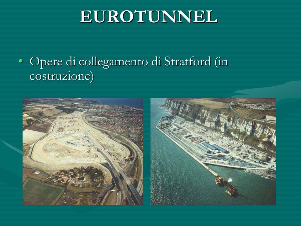 EUROTUNNEL Opere di collegamento di Stratford (in costruzione)