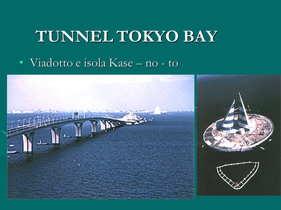 TUNNEL TOKYO BAY Viadotto e isola Kase – no - to
