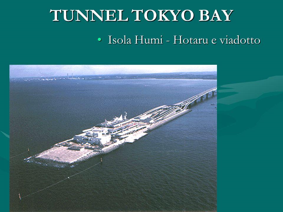TUNNEL TOKYO BAY Isola Humi - Hotaru e viadotto
