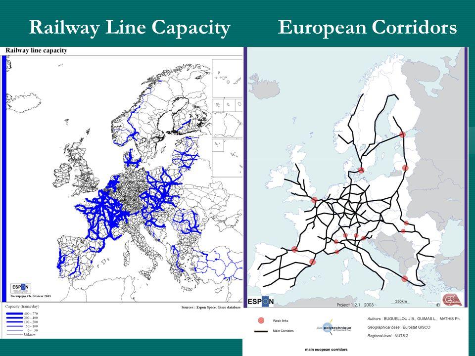 Railway Line Capacity European Corridors