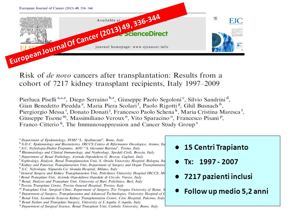 European Journal Of Cancer (2013) 49, 336-344
