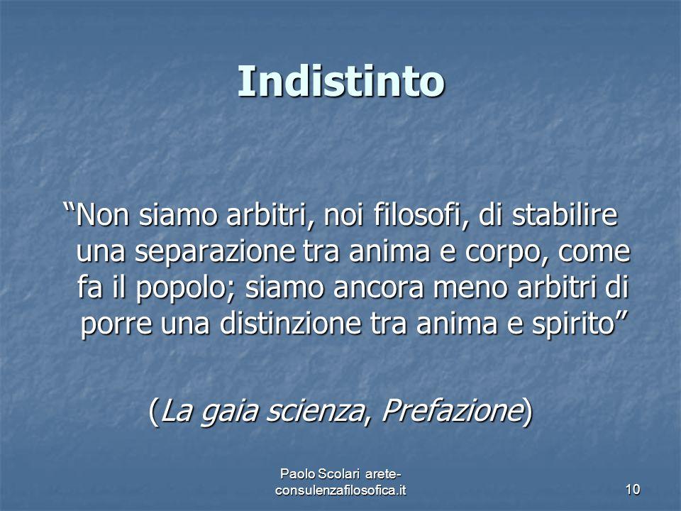 Indistinto