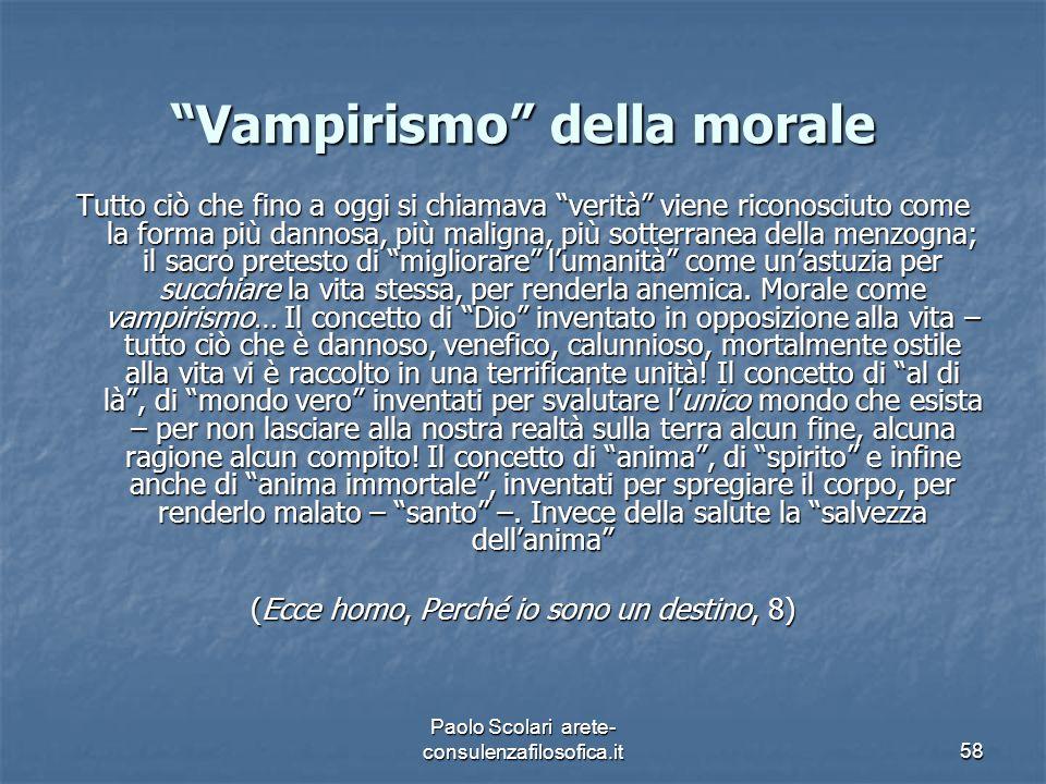 Vampirismo della morale