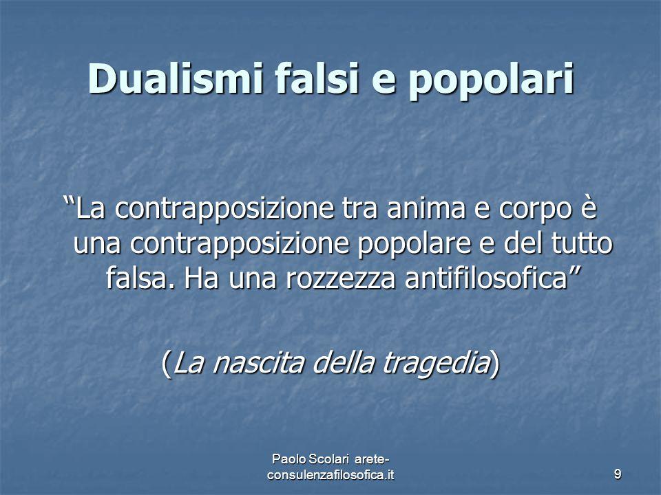 Dualismi falsi e popolari