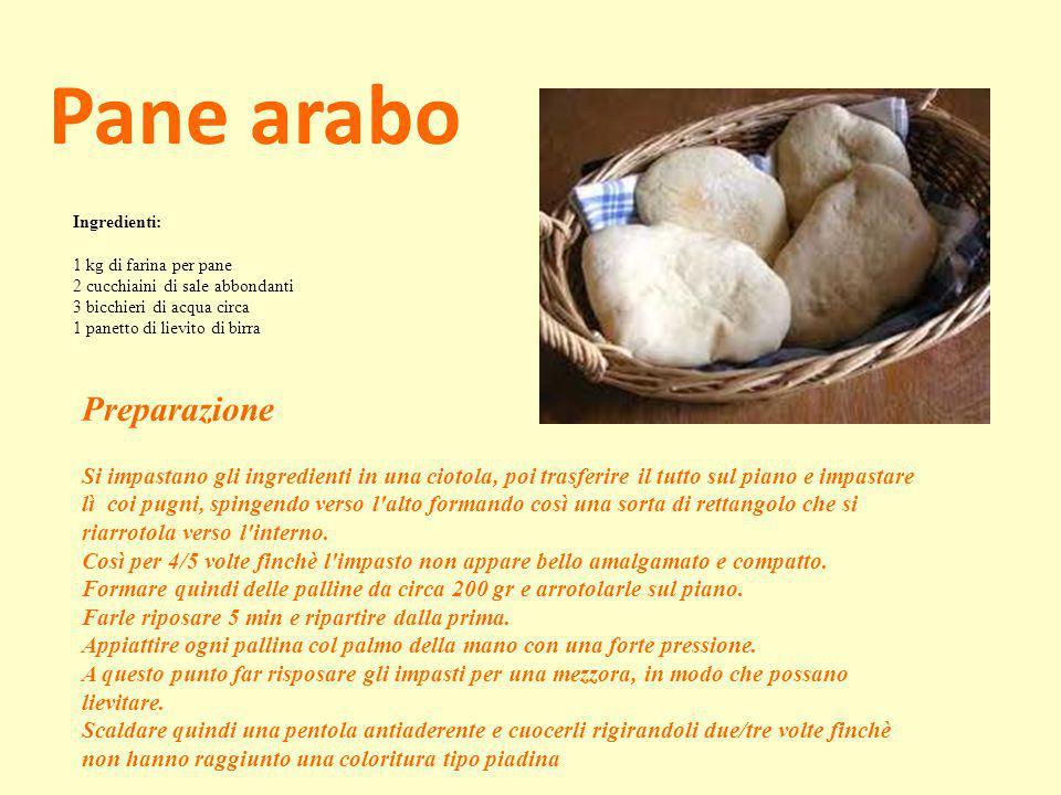 Pane arabo Preparazione