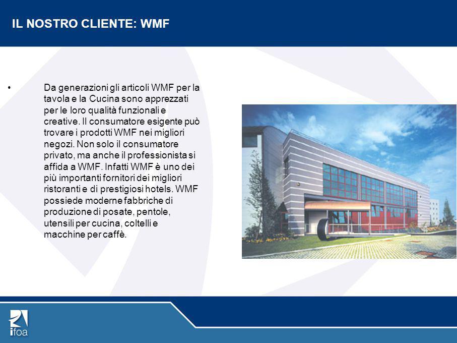 IL NOSTRO CLIENTE: WMF