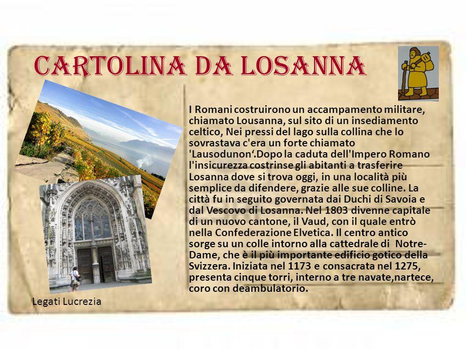 Cartolina da LOSANNA