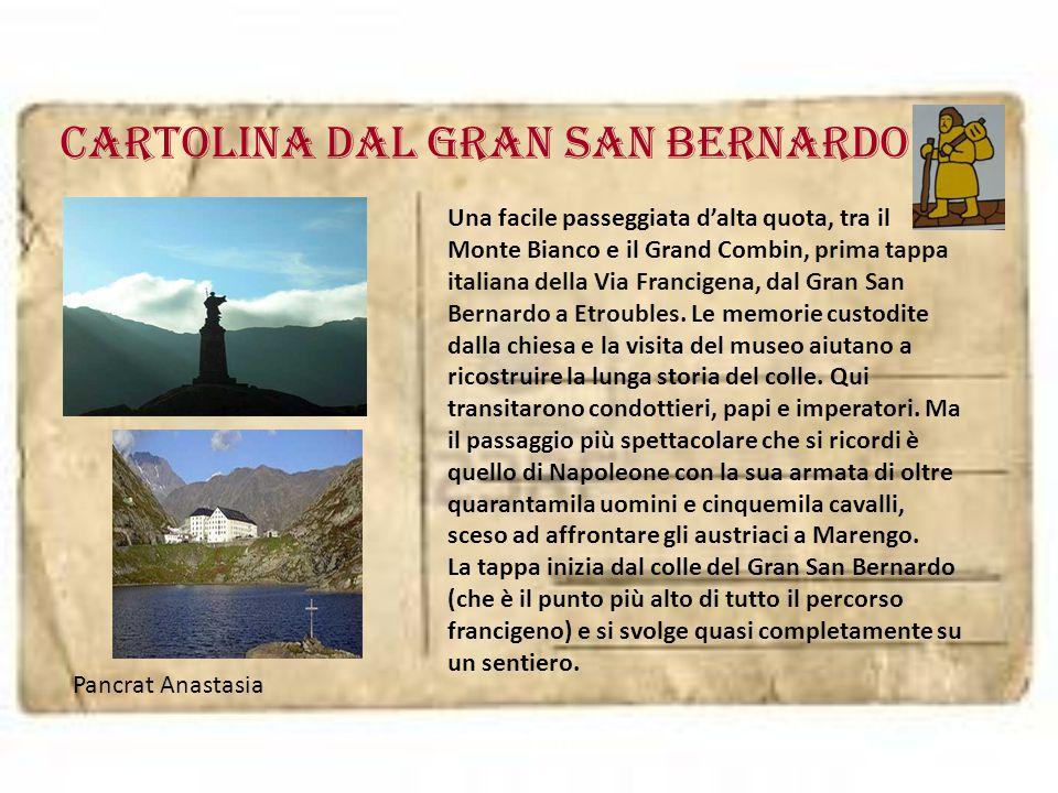Cartolina dal GRAN SAN BERNARDO