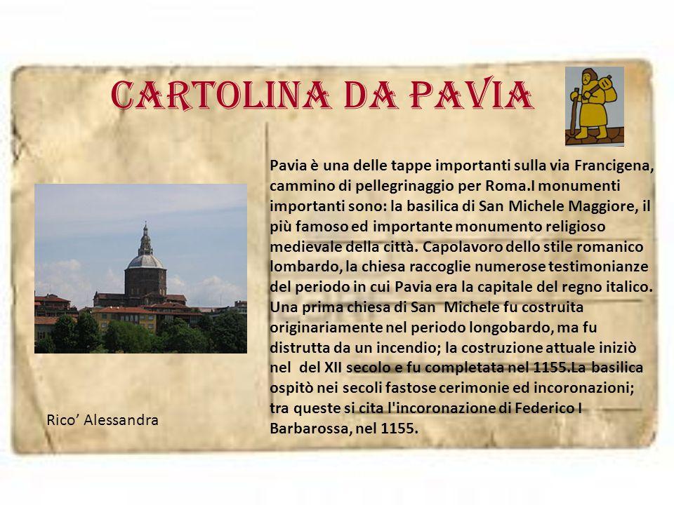 Cartolina da PAVIA