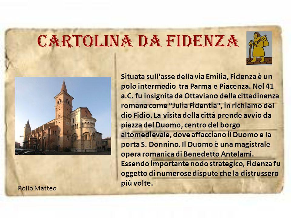 Cartolina da FIDENZA