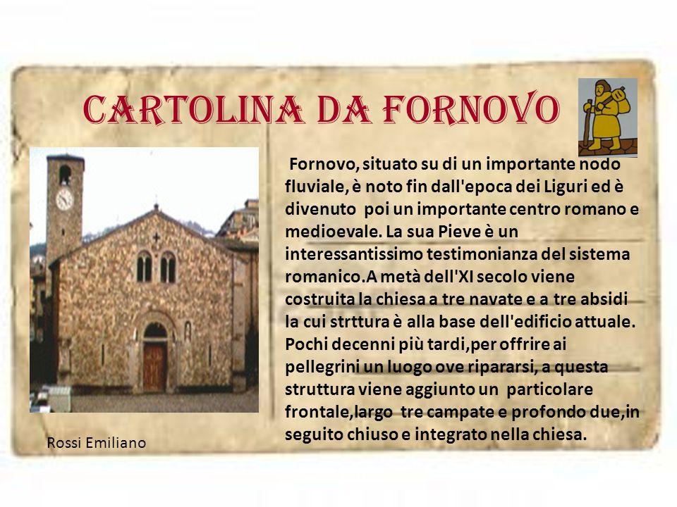 Cartolina da FORNOVO