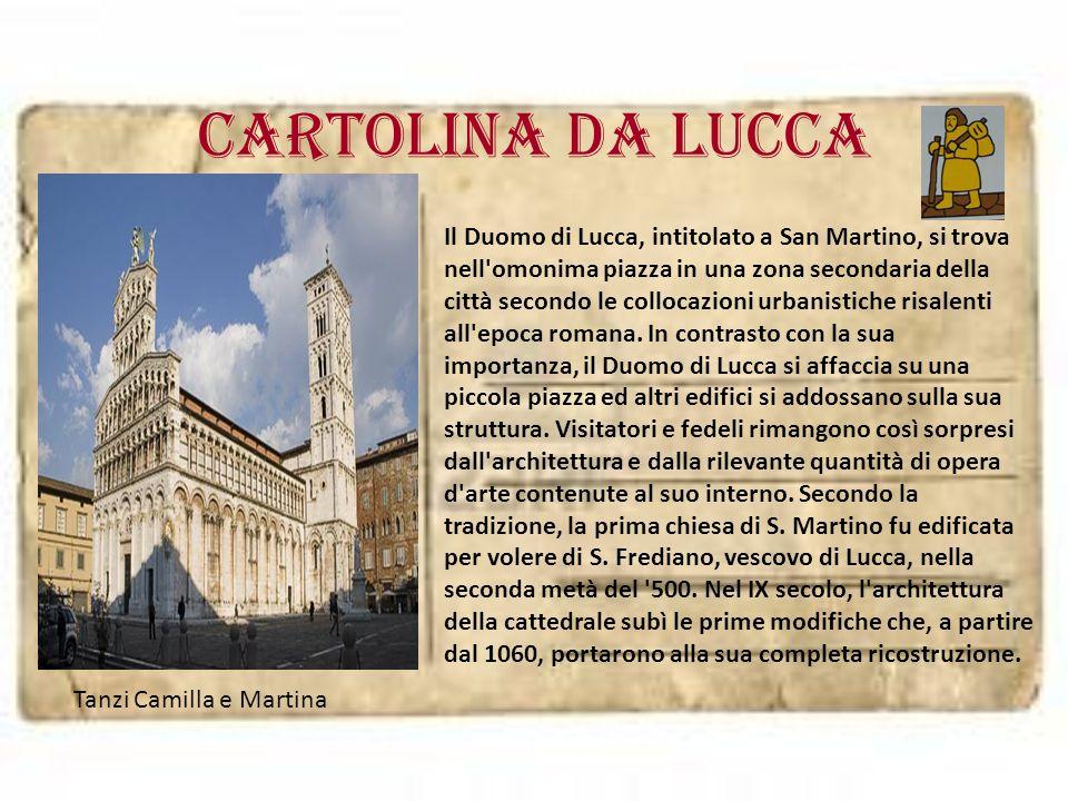 Cartolina da LUCCA