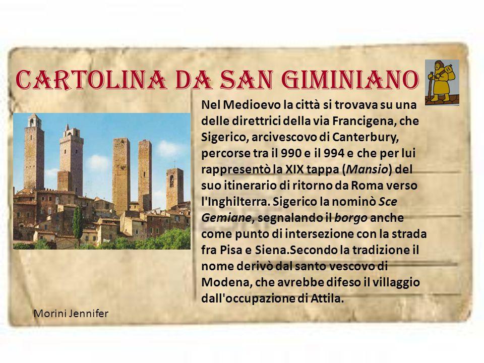 Cartolina da SAN GIMINIANO
