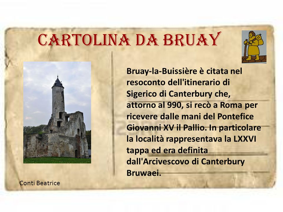 Cartolina da Bruay
