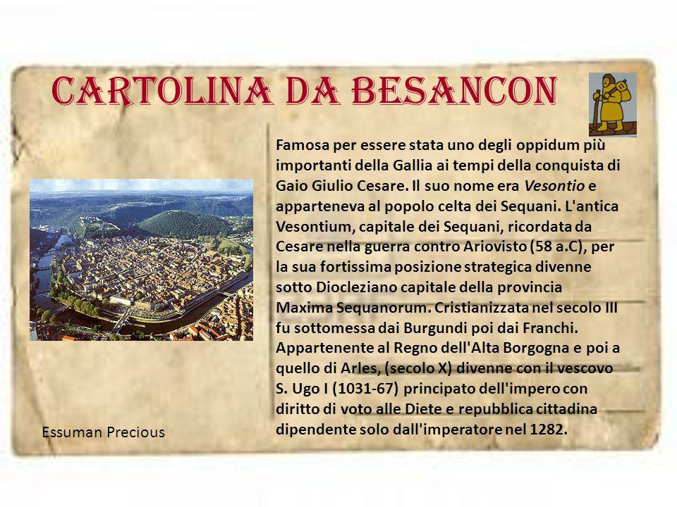 Cartolina da BESANCON