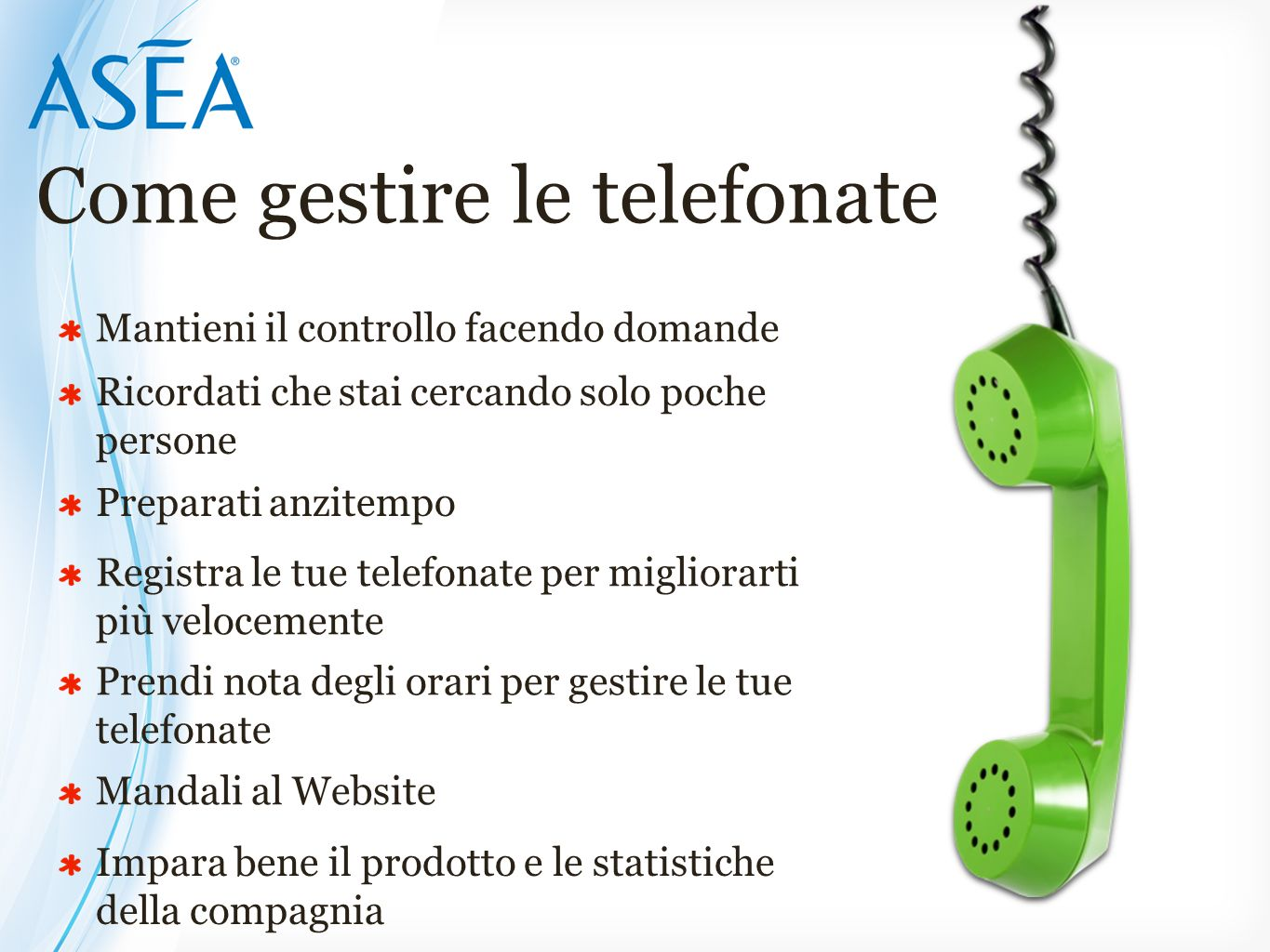 Come gestire le telefonate