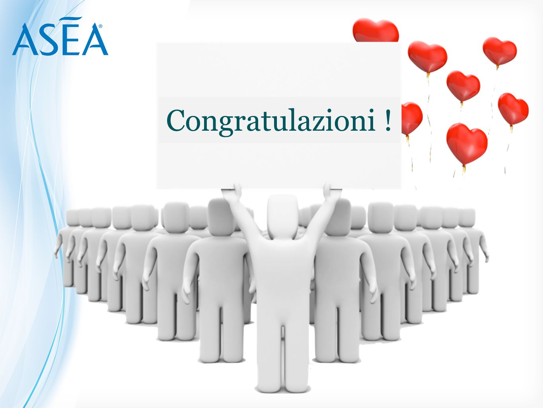 Congratulazioni !