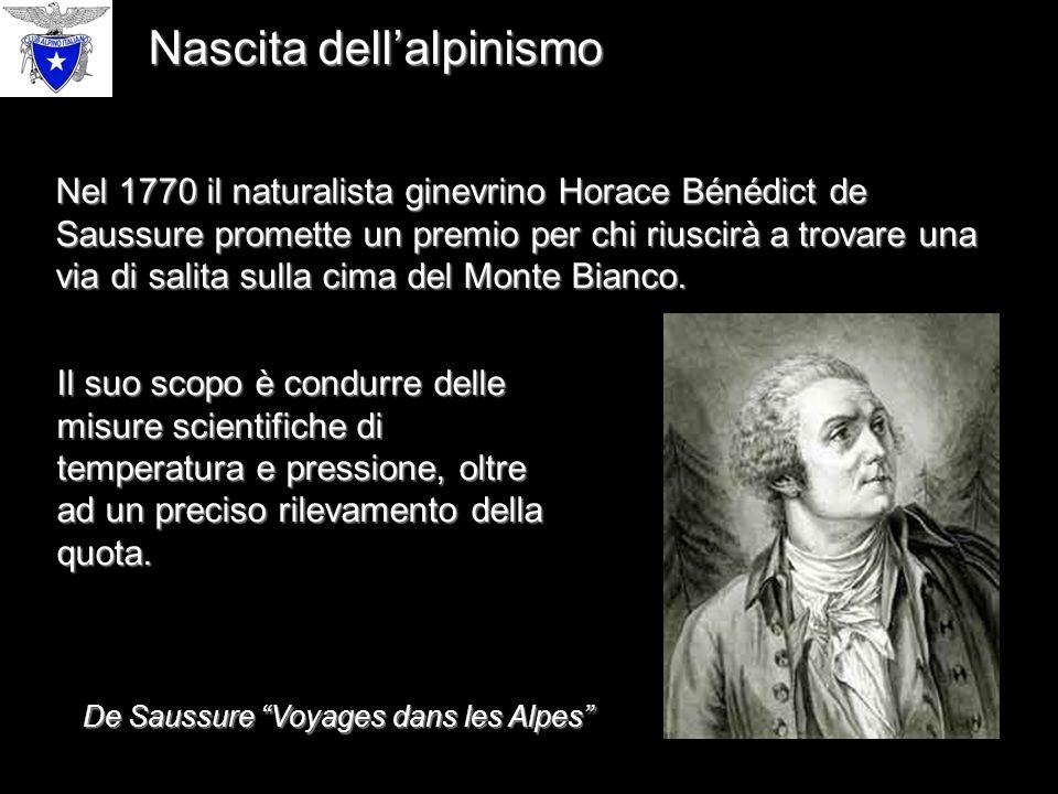 De Saussure Voyages dans les Alpes