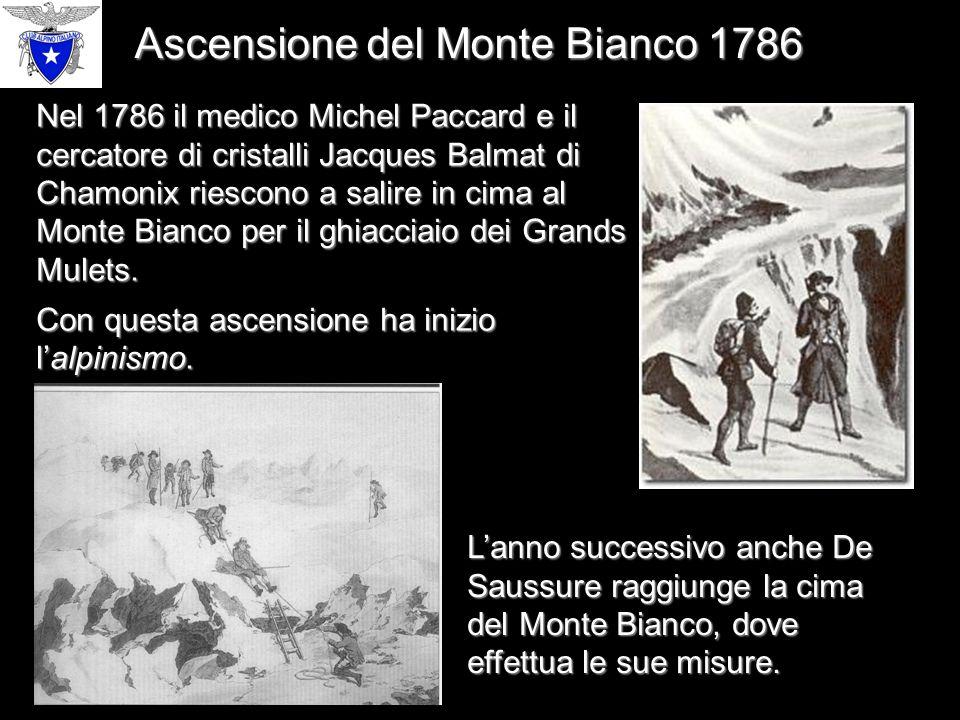 Ascensione del Monte Bianco 1786