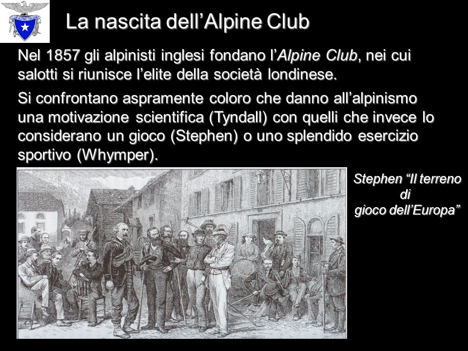 La nascita dell'Alpine Club