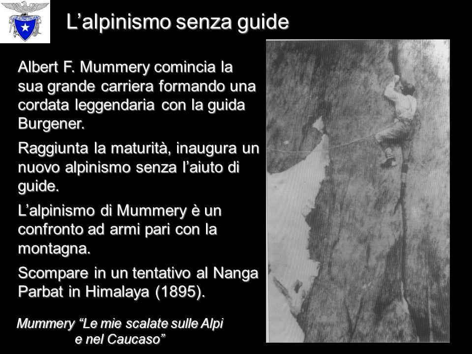 Mummery Le mie scalate sulle Alpi e nel Caucaso