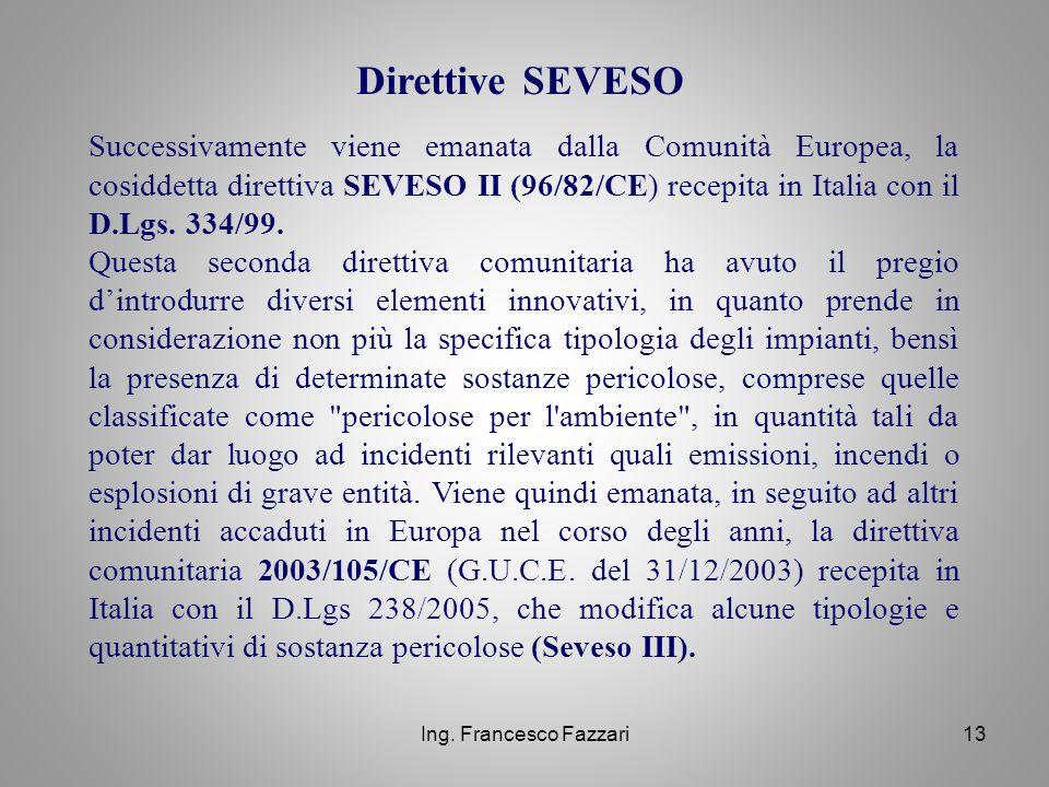 Direttive SEVESO