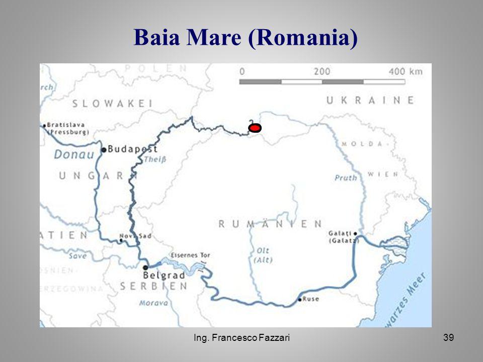 Baia Mare (Romania) Ing. Francesco Fazzari