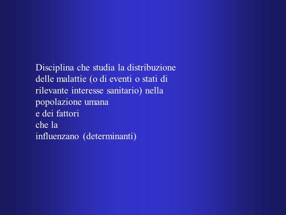 Disciplina che studia la distribuzione