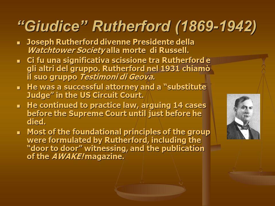 Giudice Rutherford (1869-1942)