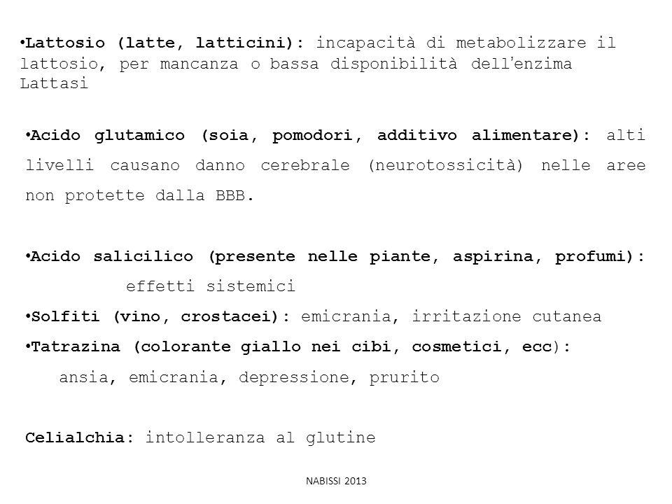 Solfiti (vino, crostacei): emicrania, irritazione cutanea