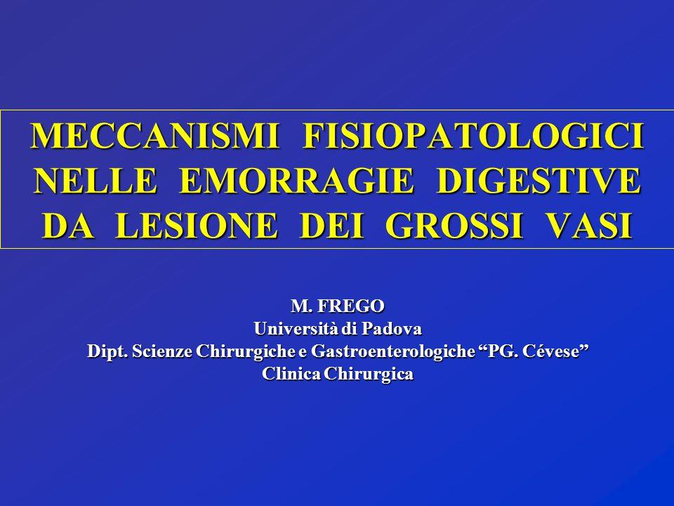 Dipt. Scienze Chirurgiche e Gastroenterologiche PG. Cévese