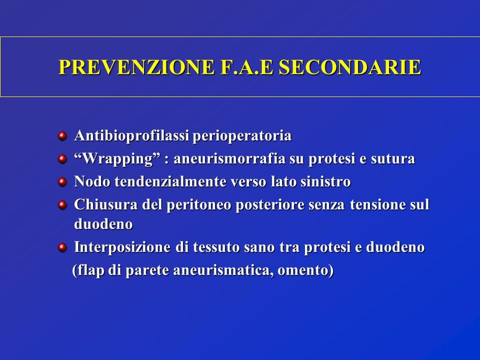 PREVENZIONE F.A.E SECONDARIE
