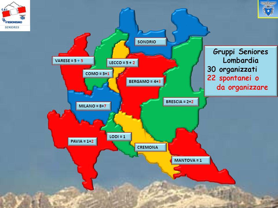 Gruppi Seniores Lombardia