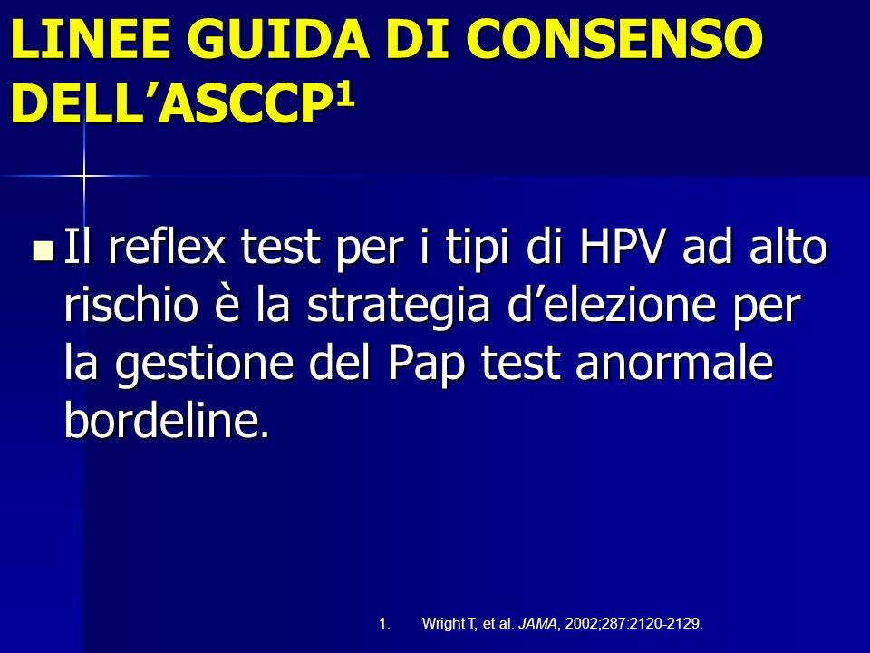 LINEE GUIDA DI CONSENSO DELL'ASCCP1