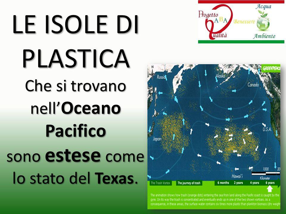 LE ISOLE DI PLASTICA Che si trovano nell'Oceano Pacifico