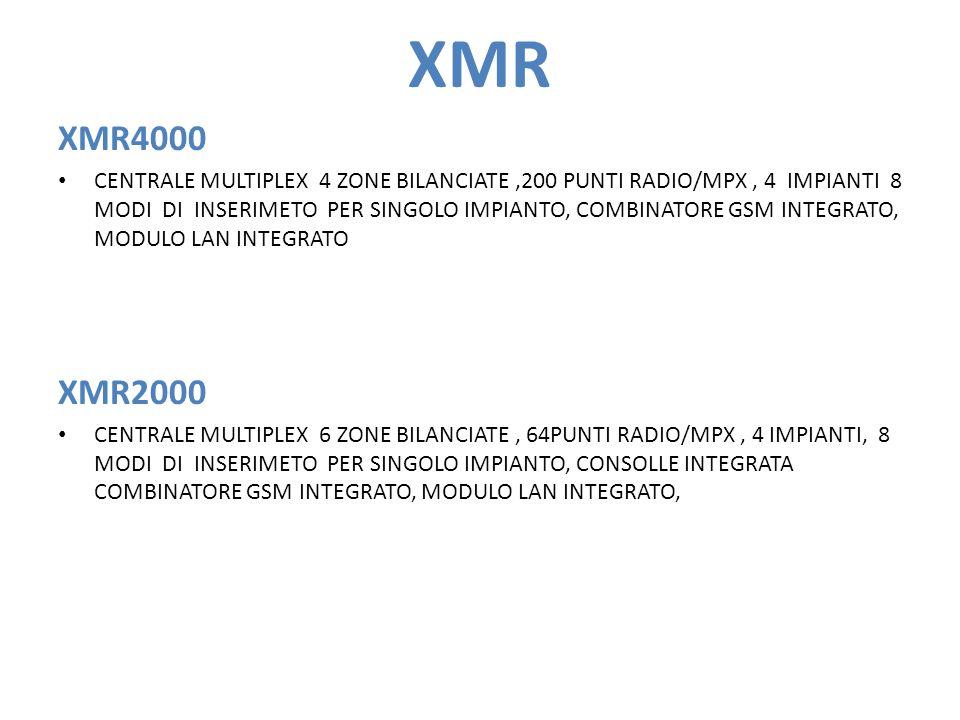 XMR XMR4000.