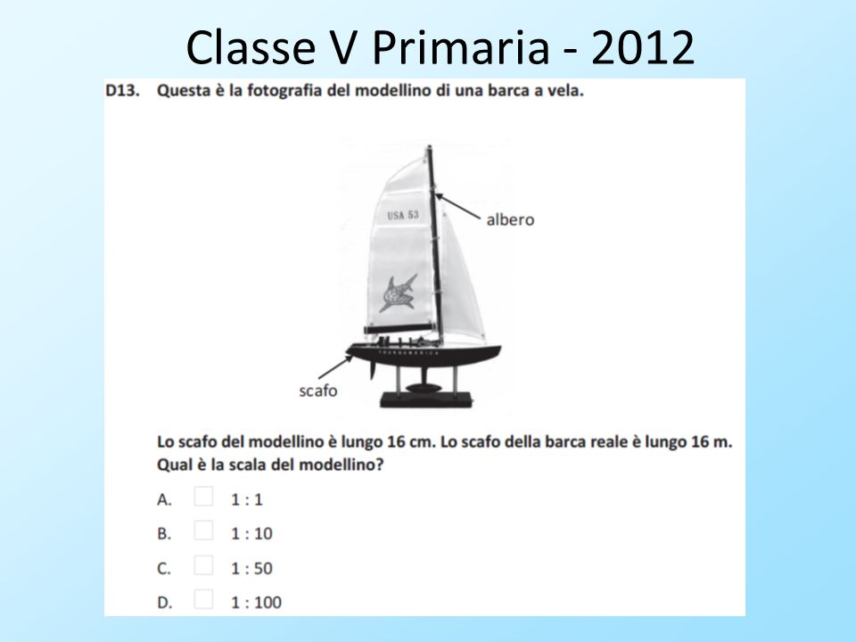 Classe V Primaria - 2012