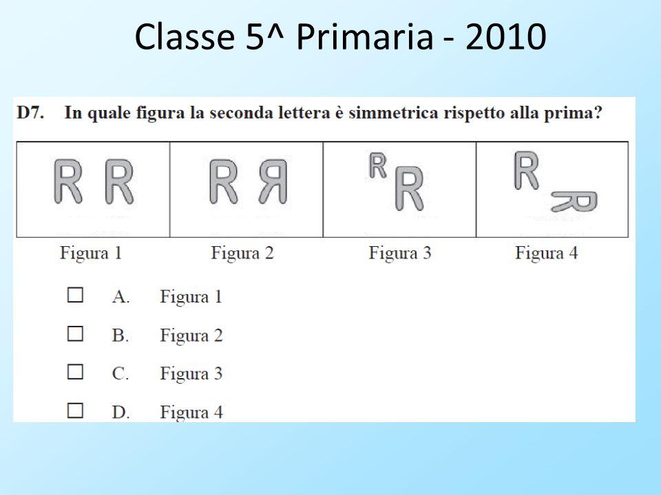 Classe 5^ Primaria - 2010
